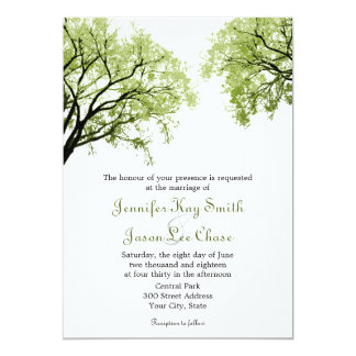 Tree Wedding Invite To Create Your Own Fascinating Invitation 13