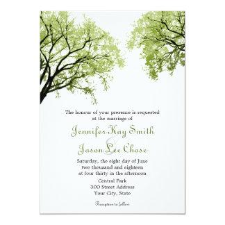Spring Trees 2 Wedding Invitations