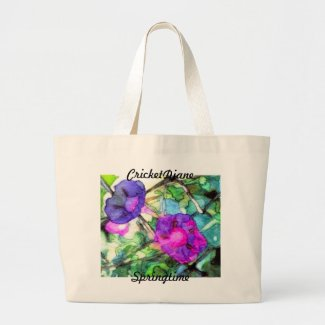 Springtime by CricketDiane bag