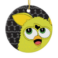 Sprite Yellow Furby Christmas Tree Ornaments