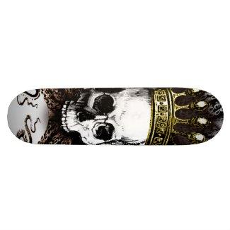 Squid Skull King zazzle_skateboard