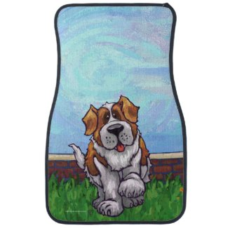 St. Bernard Gifts & Accessories Car Mat