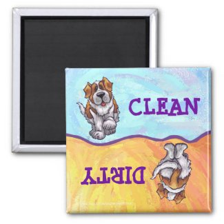 St. Bernard Gifts & Accessories Fridge Magnets