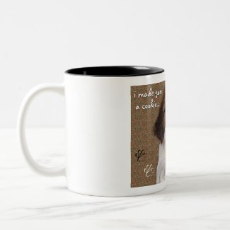 St Bernard Puppy Cookie mug