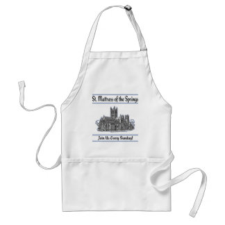"""St. Mattress Of The Springs"" Church Apron"