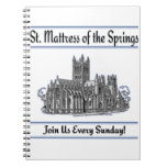 """St. Mattress Of The Springs"" Church notebooks"