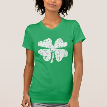 St Patrick's Day shirt for women | shamrock green