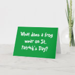 St. Patrricks Day Card