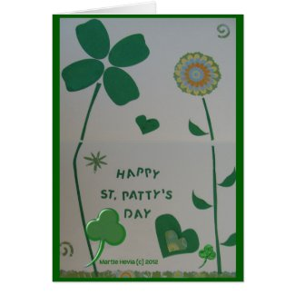St. Patty's Day - Scrapbook Card