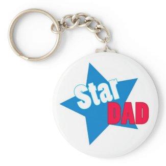 Star DAD - Keychain