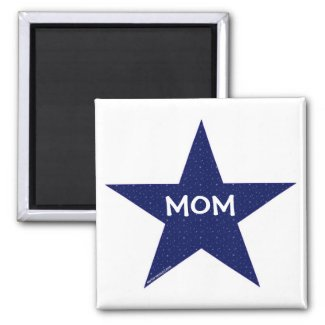 Star Mom Magnet