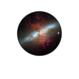 Astronomy shirts with images from Hubble and Spitzer