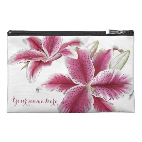 Stargazer Floral Travel Accessory Bags