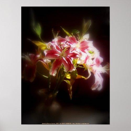 stargazer lilies #31 print