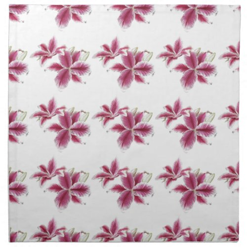Stargazer Lilies Cloth Napkin