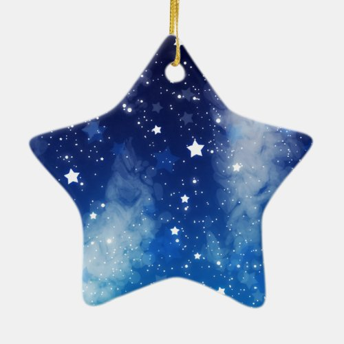 ocean sky blue christmas ornament dark blue christmas ornaments