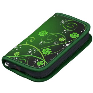 Stars and green clovers organizer