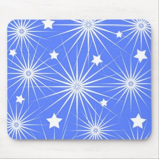 Stars pattern - Mousepad