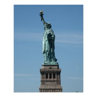 Statue of Liberty Photograph - 2 Posters