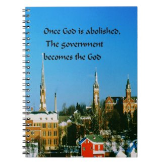 Stay close to God Spiral Note Books