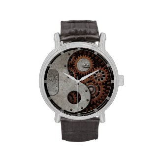 Steampunk Yin Yang Watches