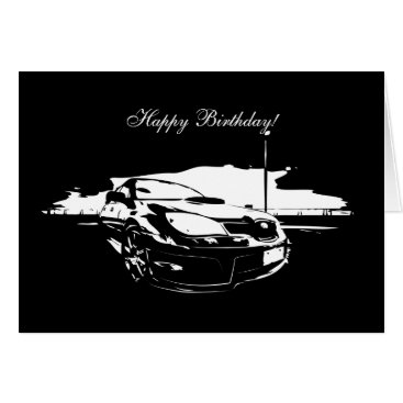 STI Drifting Birthday Cards