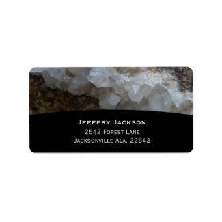 Stone Address Labels