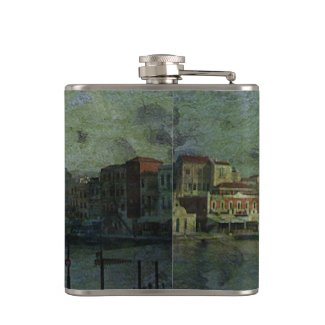 Stormy Weather Hip Flasks