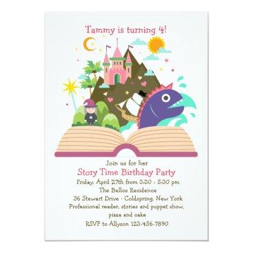 Story Time Invitation