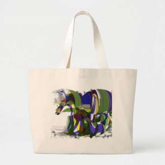 Strange Pony CricketDiane Art Products zazzle_bag