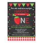 Strawberry Birthday Invitation