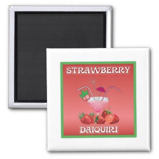 Strawberry Daiquiri Magnets