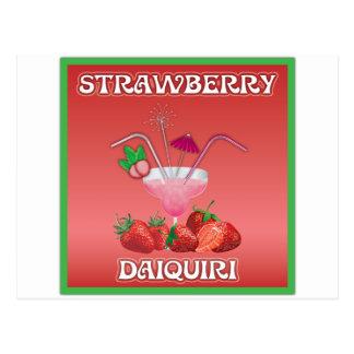 Strawberry Daiquiri Post Cards