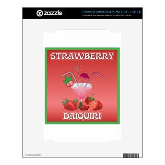 Strawberry Daiquiri Skins For Nook