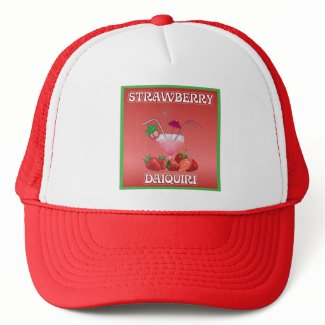 Strawberry Daiquiri Trucker Hats