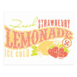 Strawberry Lemonade Postcard
