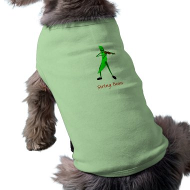 String Bean pet clothing