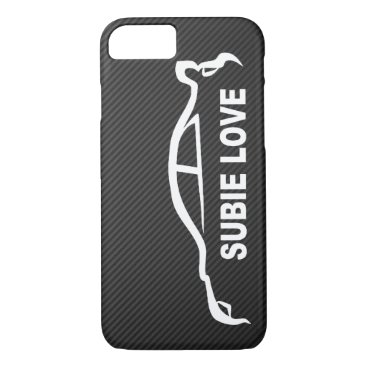 Subaru WRX Impreza STI - Subbie Love iPhone 8/7 Case