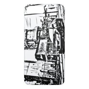 "Subaru WRX STI Impreza ""The Streets"" iPhone 8 Plus/7 Plus Case"