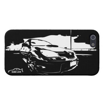 "Subie Love ""drift"" iPhone SE/5/5s Cover"
