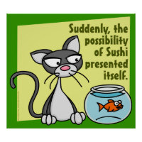 Suddenly Sushi Poster
