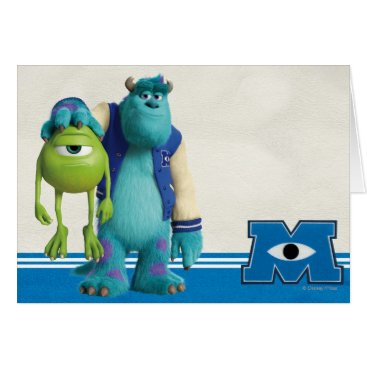 Sulley Holding Mike Card