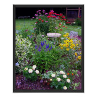 Summer Cottage Garden print