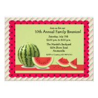 Summer Watermelon Invitation
