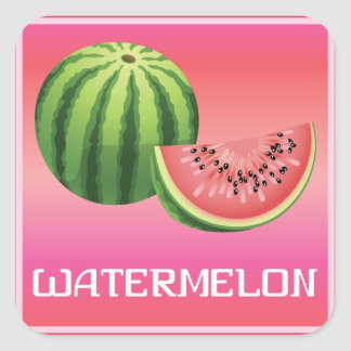 Summer Watermelon Sticker