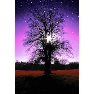 Sun-Tree-Stars Print print
