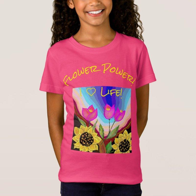 Sunflowers Tulips & Love Life T-Shirt