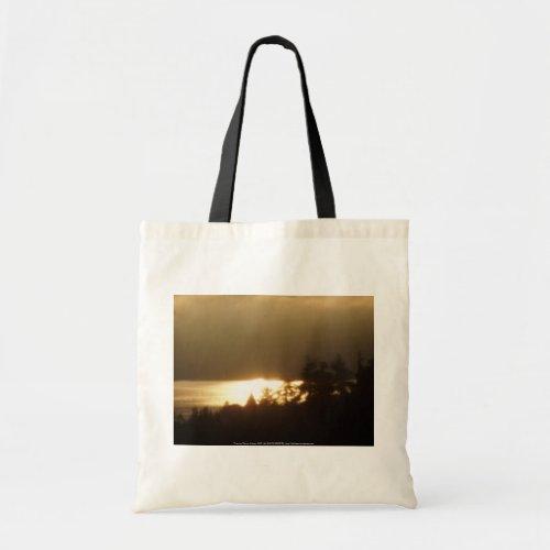 Sunrise Over the Columbia River #4 bag