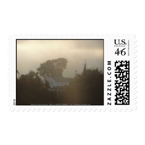 Sunrise Over the Columbia River #5 stamp