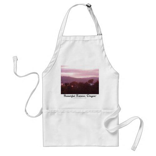 Sunrise Over the Columbia River #9 apron